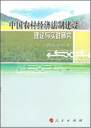 中国农村经济法制建设理论与实践研究